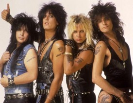 MOTLEY CRUE hair metal bands