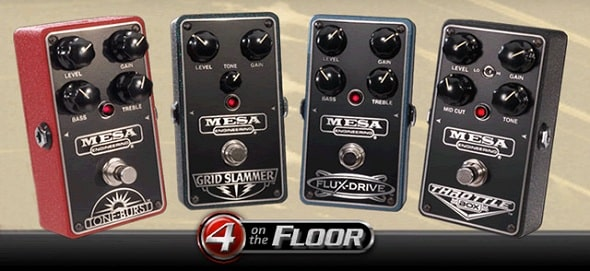 Mesa Boogie Tone-Burst, Grid Slammer, Flux-Drive, and Throttle Box Tone Samples