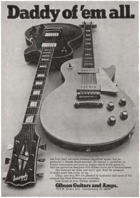 Gibson 1969 advertisement