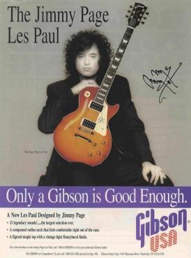 Vintage Gibson Advertisement