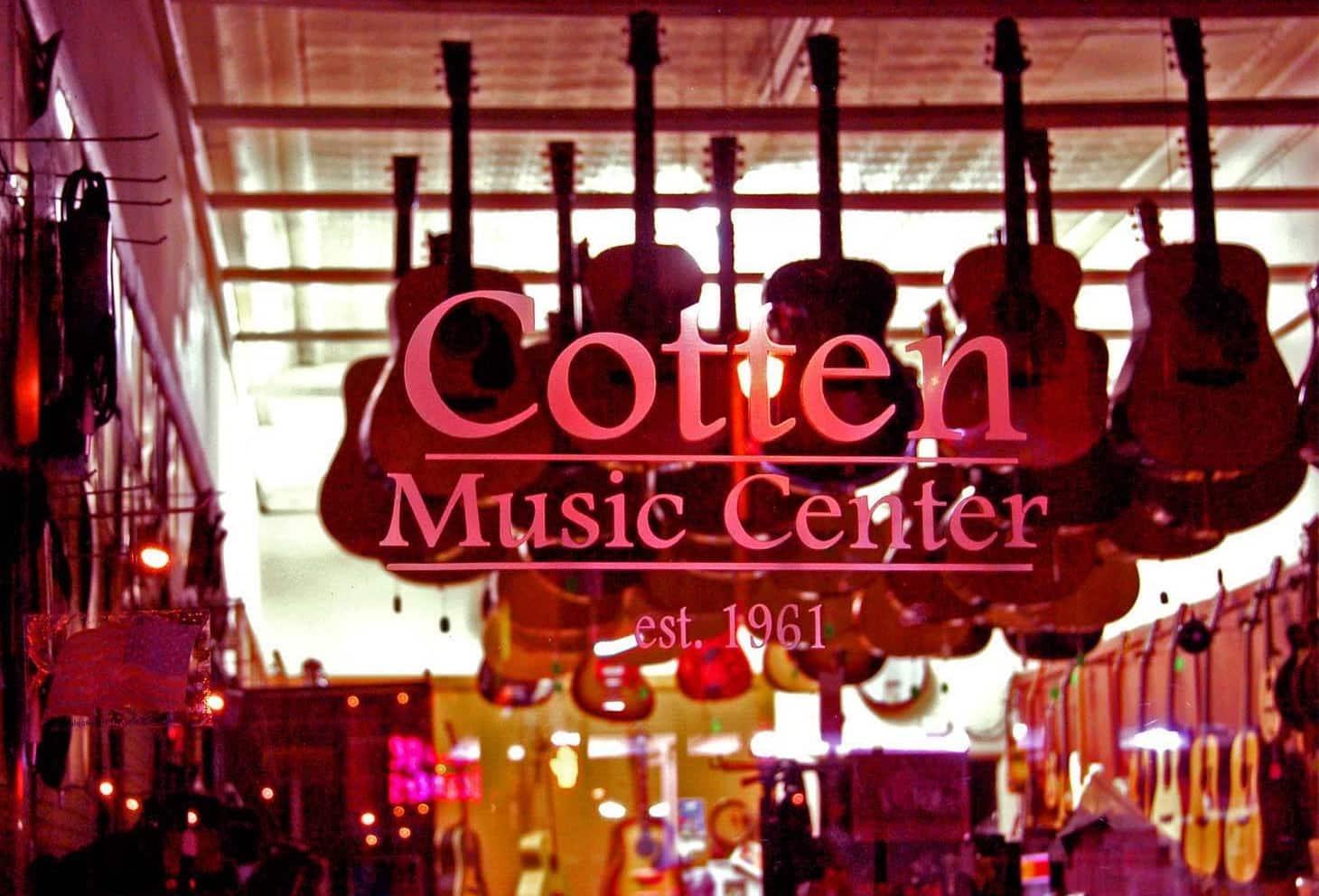Cotton Music Guitar Center Nashville Tennessee