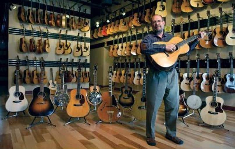 Top Guitar Stores In Nashville Tennessee