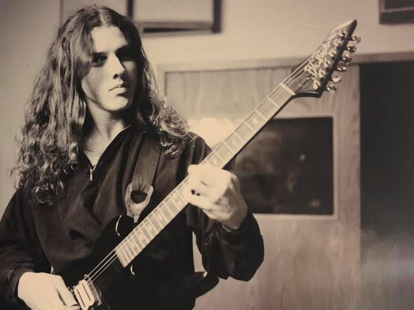 Chuck Schuldiner Death Metal Icon