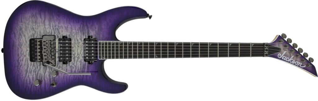Jackson PRO SL2Q Soloist Metal Guitar