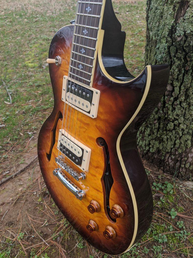 xaviere xv550 guitar tobacco